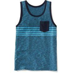 Old Navy Slub Knit Pocket Tank For Men ($10) ❤ liked on Polyvore featuring men's fashion, men's clothing, men's shirts, men's tank tops, tops, guys, mens shirts, the new navy, mens tank tops and mens fitted shirts