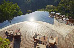 The Swimming Pool at Hanging Gardens Ubud, Bali
