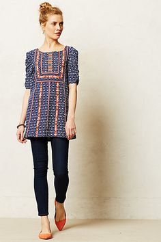 Seva Tunic - anthropologie.com