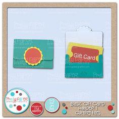 Basic Gift Card Holder 1 Cutting Files
