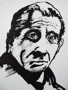 Portrait Study by Richard Tuvey