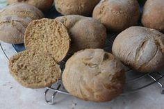 Bułeczki razowe z mąką żytnią | Moje Wypieki