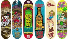 From the Advertising World to Skateboard Art :: Artist Brian Romero Has a Deathwish | The Hundreds