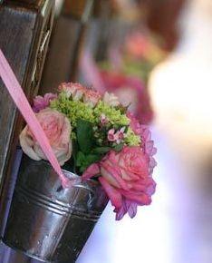 flowers wedding ceremony