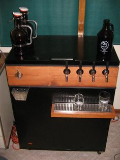 Black keezer build