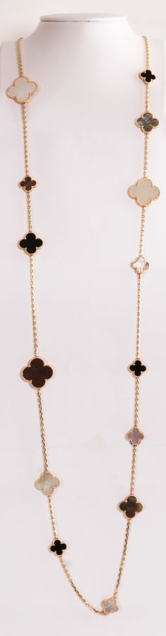 I have a look-a-like. Shhhh Don't tell.  VAN CLEEF AND ARPELS NECKLACE