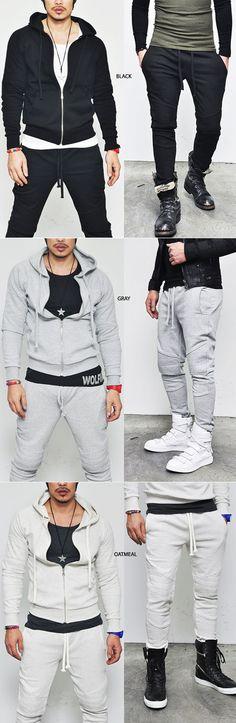 Gymwear Set :: Designer Edition Seaming Biker Training Set-Gymwear 04 - Mens Fashion Clothing For An Attractive Guy Look