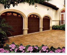 Clopay Premium Series Garage Door.
