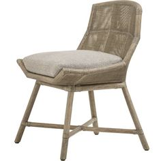 McGuire Furniture: Laura Kirar Maketto Side Chair: M-432
