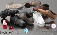 Abraxas Formal Shoes is our new male hud driven release. Every man in his closet needs to have a nice pair of shoes :-)  It is compatible with Slink, TMP, Adam, AESTHETIC, Signature, Belleza Jake. Also includes unrigged version.  https://marketplace.secondlife.com/p/Abraxas-Formal-Male-Man-Shoes-Mesh-TMP-Adam-Slink-Aesthetic-Signature-Belleza-Jake/12701298  http://maps.secondlife.com/secondlife/Fashion%20Boulevard%20II/105/227/22  Enjoy it :-) Kisses Ellen