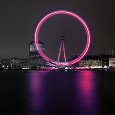The London Eye, London The most relaxing site seeing Ferris Wheel. Great place to get engaged.