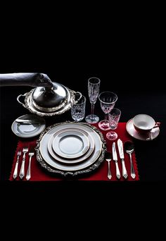 Regal 64 pcs Dinner Set Indian Wedding Gifts, Dinner Sets, Bowl Set, Table Settings, Place Settings, Tablescapes