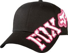 e5078d07efe Fox Racing - Fox Girls Hat - Tilted - Black - One Size Fox Racing