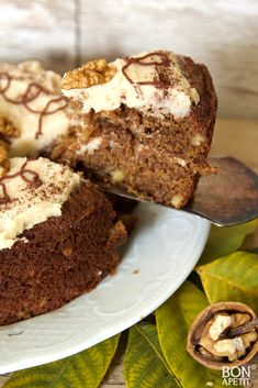Heerlijke herfsttaart met walnoten en koffie! - bonapetit foodblog