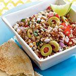 Tart & Tangy Bulgur Salad Recipe | MyRecipes.com