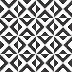 Papel de Parede Autocolante - preto e branco 078