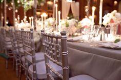 Silver Chiavari Chairs + Vision Furniture