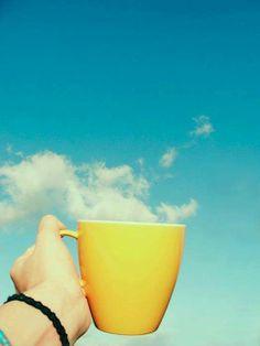Che c'è di meglio che iniziare la giornata con una tazza fumante di ....qualcosa?