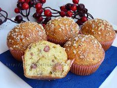 muffin con pancetta e parmigiano ricetta sfiziosa|Easykitchen