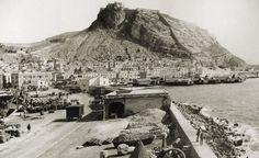 Vista panorámica de Alicante desde el puerto.:: Concejalía de Cultura