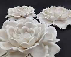 PORCELAIN PEONY for table, wall or ceiling