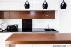 Blat kuchenny z konglomeratu kwarcowego Nero #kuchnia