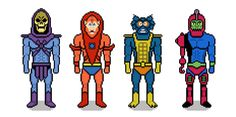 Masters of the Univers - Evil Warriors - Pixel Art made by 8bitstars