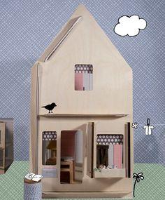 Lille Huset DIY Doll houses Doro by lillehuset on Etsy, $60.00