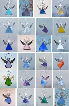 Little angel suncatchers. They can be made in any color!