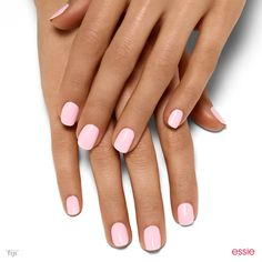 Need a pink pick me up? Try this creamy pastel shade for instant mani bliss.