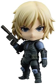 Good Smile Metal Gear Solid 2 Sons of Liberty Raiden Nendoroid Action Figure *** Check this awesome product by going to the link at the image.