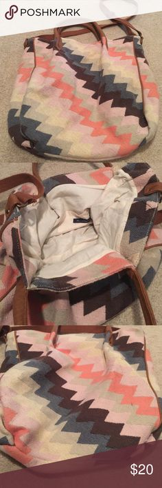 Adorable bag So cute and roomy, it's been loved it lots of life left American Eagle Outfitters Bags Hobos