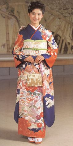 The Kimono and Japanese Textile ArtMarie-Therese Wisniowski Court Attire, Character And Setting, Japanese Textiles, Textile Design, Kimono, Young Women, Medium, Formal, Sleeves