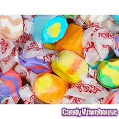 Tropical Salt Water Taffy: 5LB Bag
