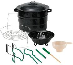 Granite- Ware 12 Piece Qt Canner Kit Canning Tools and Accessories - Food Processing Equipment - By Granite-Ware - 072495007199 at Homestead Helpers Pressure Canning Recipes, Home Canning Recipes, Canning Supplies, Canning Salsa, Canning Beans, Canning Corn, Canning Rack, Canning Tomatoes, Home Organization