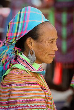 Hmong Hill Tribe Fabric. an Asian ethnic group from the mountainous regions of China, Vietnam, Laos, and Thailand. Hmong are also one of the sub-groups of the Miao ethnicity (苗族) in southern China.