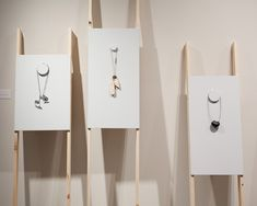Aran Galligan - easels, art jewellery. Maybe not for this show, but would be good for the more contemporary ones.