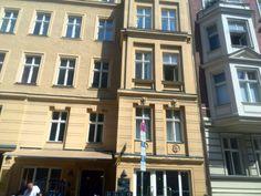 Marienstrasse 25, meine erste Wohnung