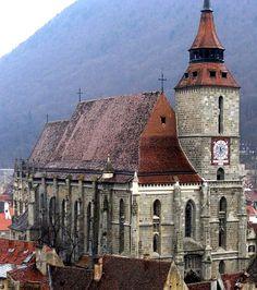 Biserica Neagră (church) in Brasov, Romania