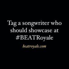 "Tag a songwriter who should showcase at #BEATRoyale beatroyale.com ""#superproducer #superproducers #musicbusiness #christianhiphop #futureproducer #christianproducer #grammyproducer #musicproducerlife #producerlife #musicnetworking #hiphopproducer #producermotivation #producergrind #produceroftheyear #akaimpcstudio #inthestudiocookin #mpclife #abletongang #akaiapc40 #musicproductiontips #komplete10ultimate #mpcstuff #yamahahs5 #komplete9ultimate #abletonpush2 #akaimpd32 """