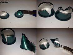 Nespresso:Formare petali per un fiore Cup Crafts, Diy And Crafts, Dosette Nespresso, Jewelry Crafts, Jewelry Art, Coffee Pods, Bijoux Diy, Schmuck Design, Beads And Wire