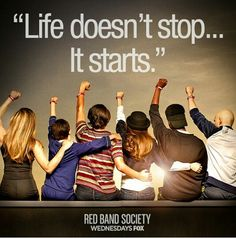 Red Band Society was amazing tonight!! Next week should be great too!
