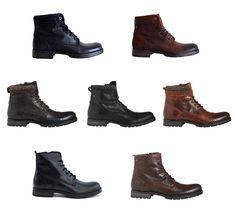 Jack & Jones Schuhe Boots Jfw Stiefel Boots Lederstiefel Herren diverse Modelle