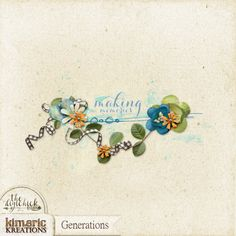 kimeric kreations: A Generations cluster to share!