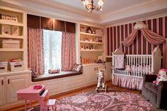 Baby Girls bedroom & pink piano