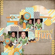Template: Templatopia 12 by Ponytail Designs Kit: Summer Blossoms by Whimpychomper