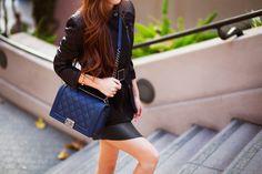 Chanel Le Boy Chanel Le Boy, Style Inspiration, Shoulder Bag, Purses, Boys, How To Wear, Fashion, Handbags, Baby Boys
