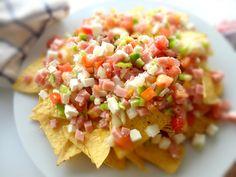 cocinaros: Ensalada de Nachos (Ensalada Mexicana)