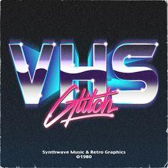 """VHS Glitch"" logo"