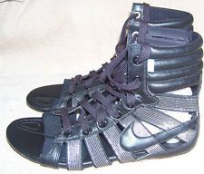 06d9f169d4d ... coupon for womens nike gladiateur ii gladiator sandals sneakers black  metallic silver 8 m 74ab3 ebf20